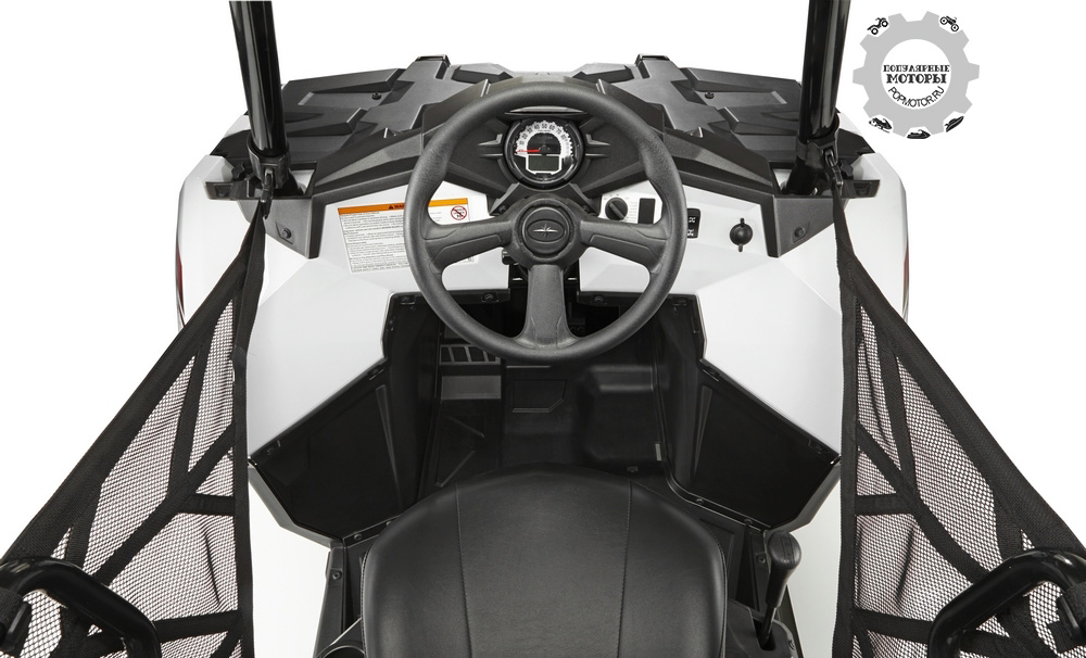 Фото анонса квадроцикла Polaris Sportsman ACE 2014 кабина