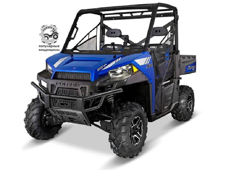 Polaris Ranger XP 900 EPS 2014 – Blue Fire