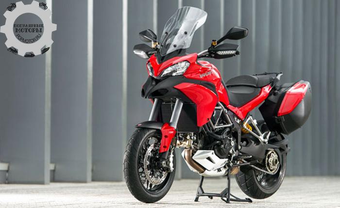 Фото мотоцикла Ducati Multistrada 1200 S Touring - 10 лучших туристических мотоциклов