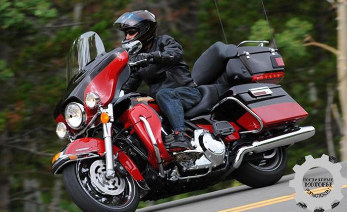 Фото мотоцикла Harley-Davidson Electra Glide Ultra Limited - 10 лучших туристических мотоциклов