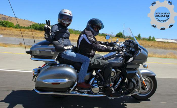 Фото мотоцикла Kawasaki Vulcan 1700 Voyager - 10 лучших туристических мотоциклов