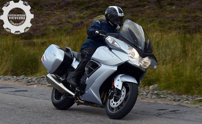 Фото мотоцикла Triumph Trophy - 10 лучших туристических мотоциклов