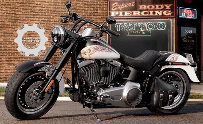 Фото Harley-Davidson Fat Boy Lo - фото 10 мотоциклов для невысоких водителей