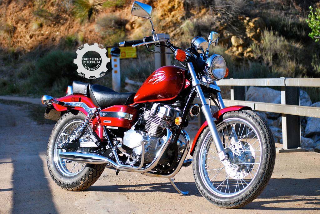 Фото Honda Rebel - 10 самых дешёвых уличных мотоциклов 2014 года