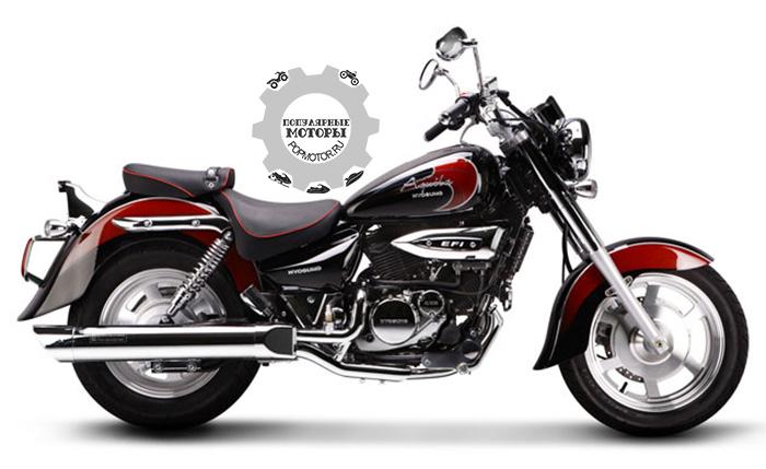 Фото Hyosung GV250 — 10 самых дешёвых уличных мотоциклов 2014 года