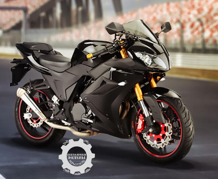 Фото Johnny Pag Falcon 320i - 10 самых дешёвых уличных мотоциклов 2014 года