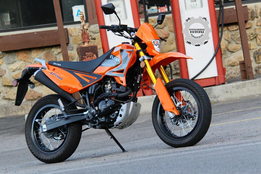 Фото Qlink XP200:XF200 - 10 самых дешёвых уличных мотоциклов 2014 года