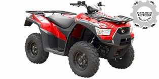 Kymco MXU 500i 2014