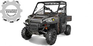 Polaris Ranger XP 900 EPS Titanium Matte Metallic LE 2014