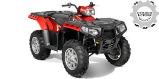 Polaris Sportsman XP 850 H.O. EPS Sunset Red 2014