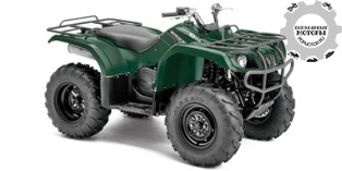 Yamaha Grizzly 350 Auto 4×4 2014
