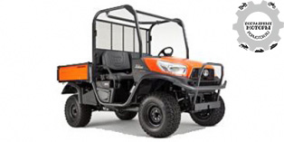 Kubota RTV-X900 Worksite Orange 2014