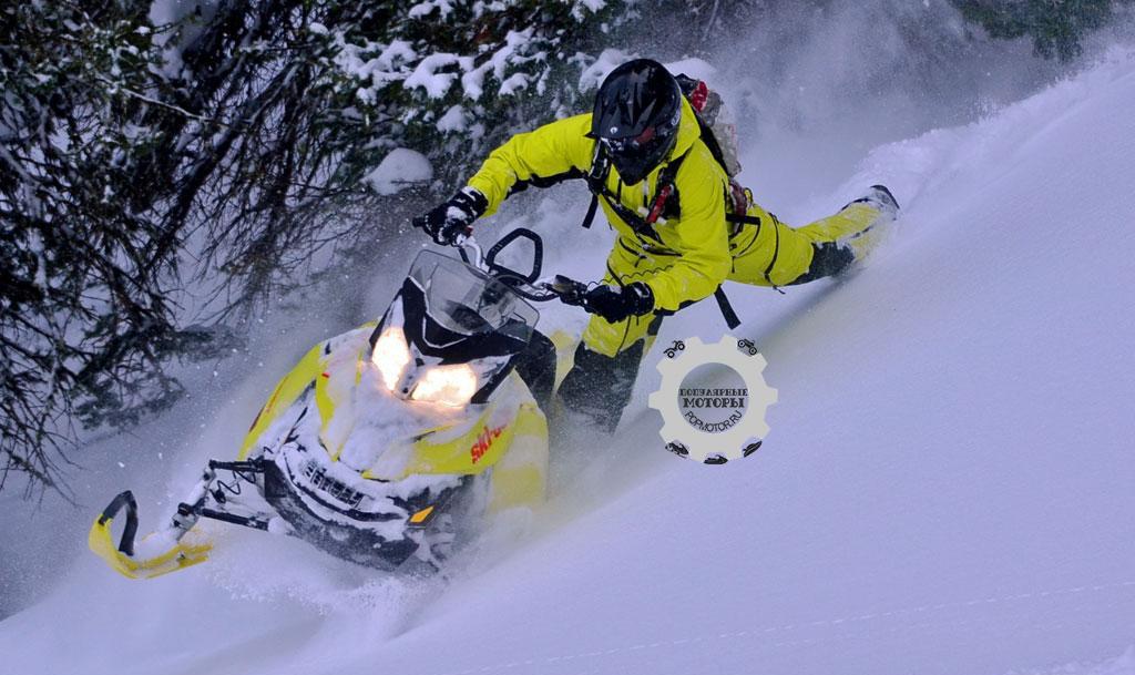 Обзор снегохода Ski-Doo 800 Summit X 174 T3 2015