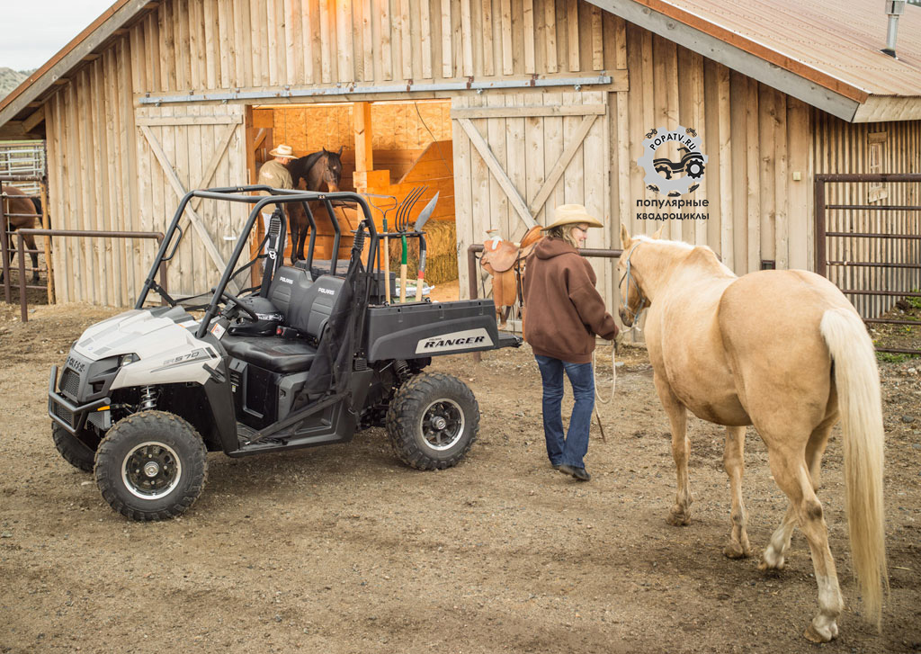 Polaris увеличивают присутствие своего двигателя ProStar 570 в модельном ряду. Ranger 570 теперь оснащён мотором мощностью 40 лошадиных сил.