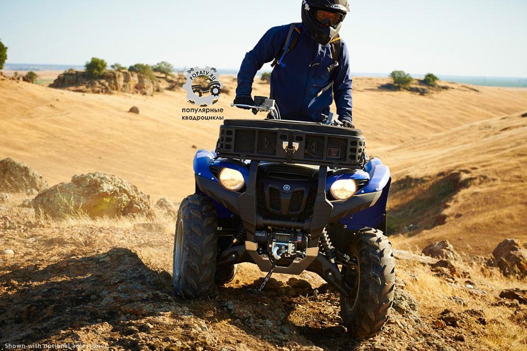 Фото квадроцикла Yamaha Grizzly 700 2014 перед