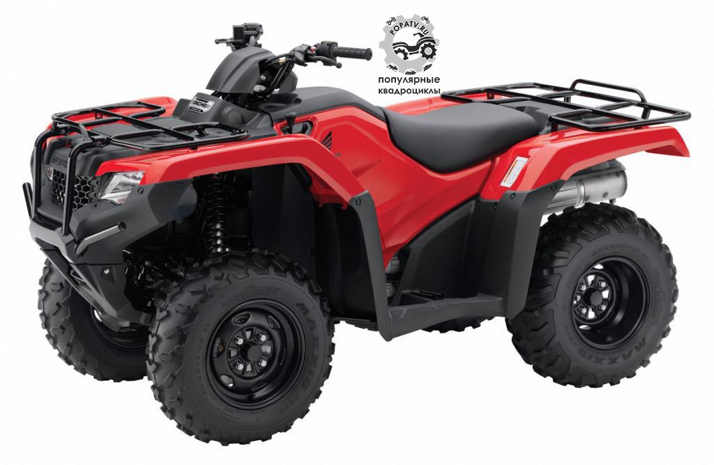 Анонс мотовездеходов Honda FourTrax Rancher и Foreman 2014