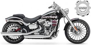 Harley-Davidson Softail CVO Breakout 2014