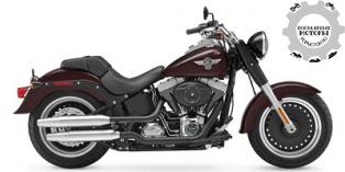 Harley-Davidson Softail Fat Boy Lo 2014