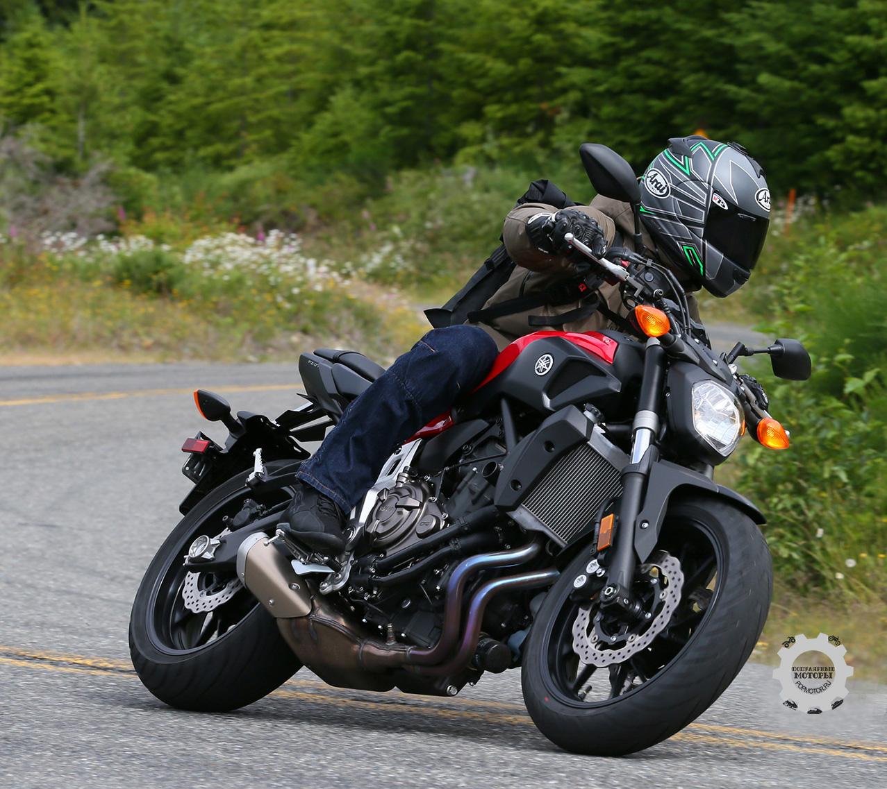 Первые фото мотоцикла YAMAHA FZ-07 2015