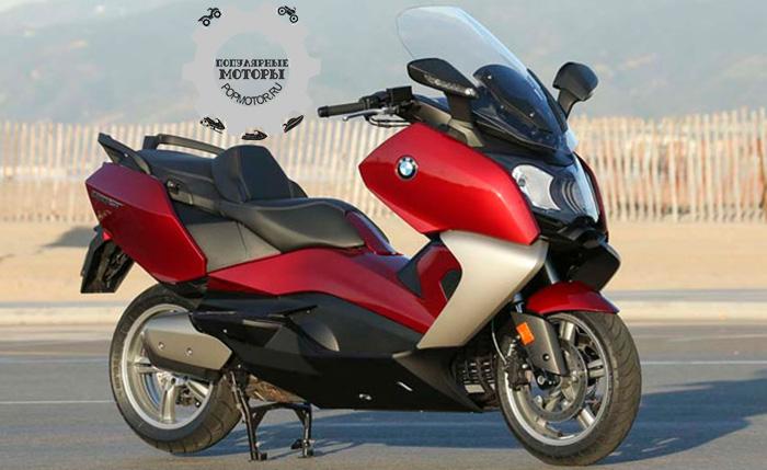 Фото мотоцикла BMW C650 GT - фото 10 лучших мотоциклов для езды по городу