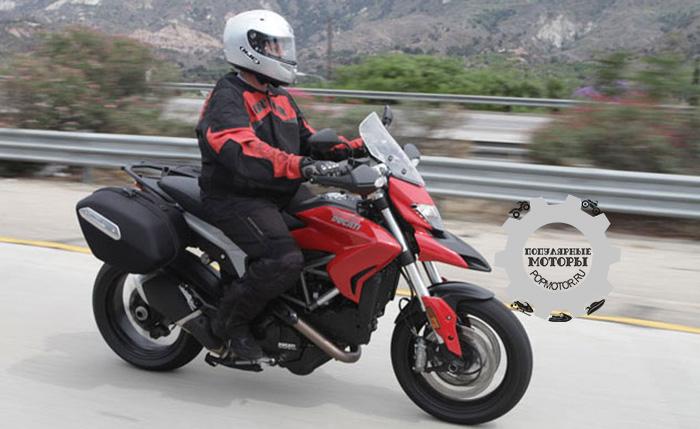 Фото мотоцикла Ducati Hyperstrada - фото 10 лучших мотоциклов для езды по городу