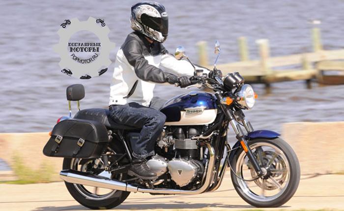 Фото мотоцикла Triumph Bonneville - фото 10 лучших мотоциклов для езды по городу