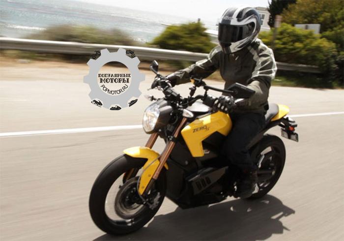 Фото мотоцикла Zero S - фото 10 лучших мотоциклов для езды по городу