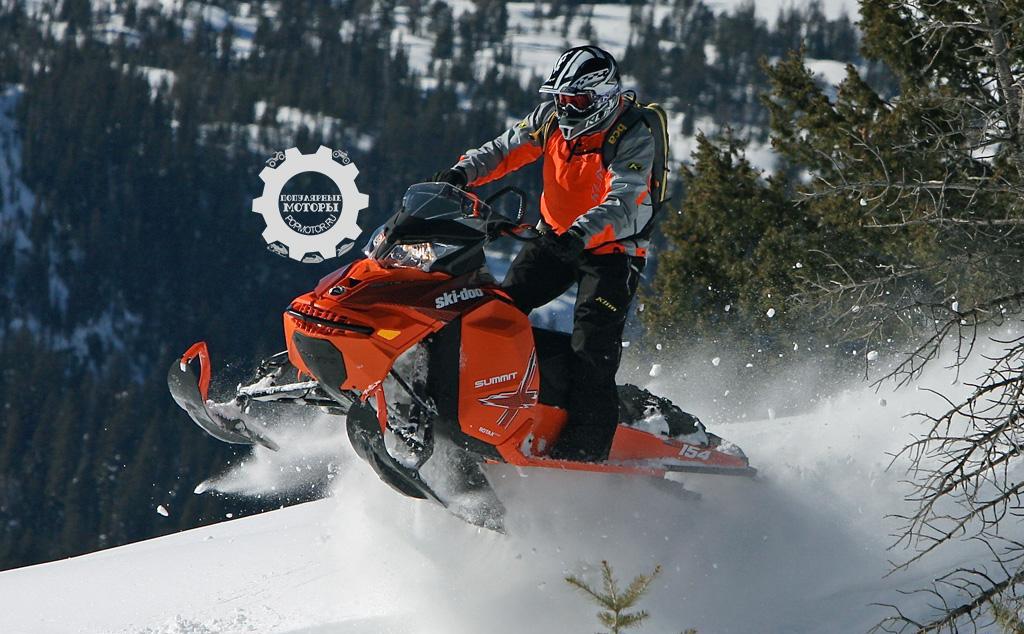 Обзор снегохода Ski-Doo XM Summit X 800R 2015