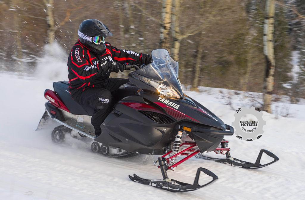 Обзор снегохода Yamaha RS Vector 2015