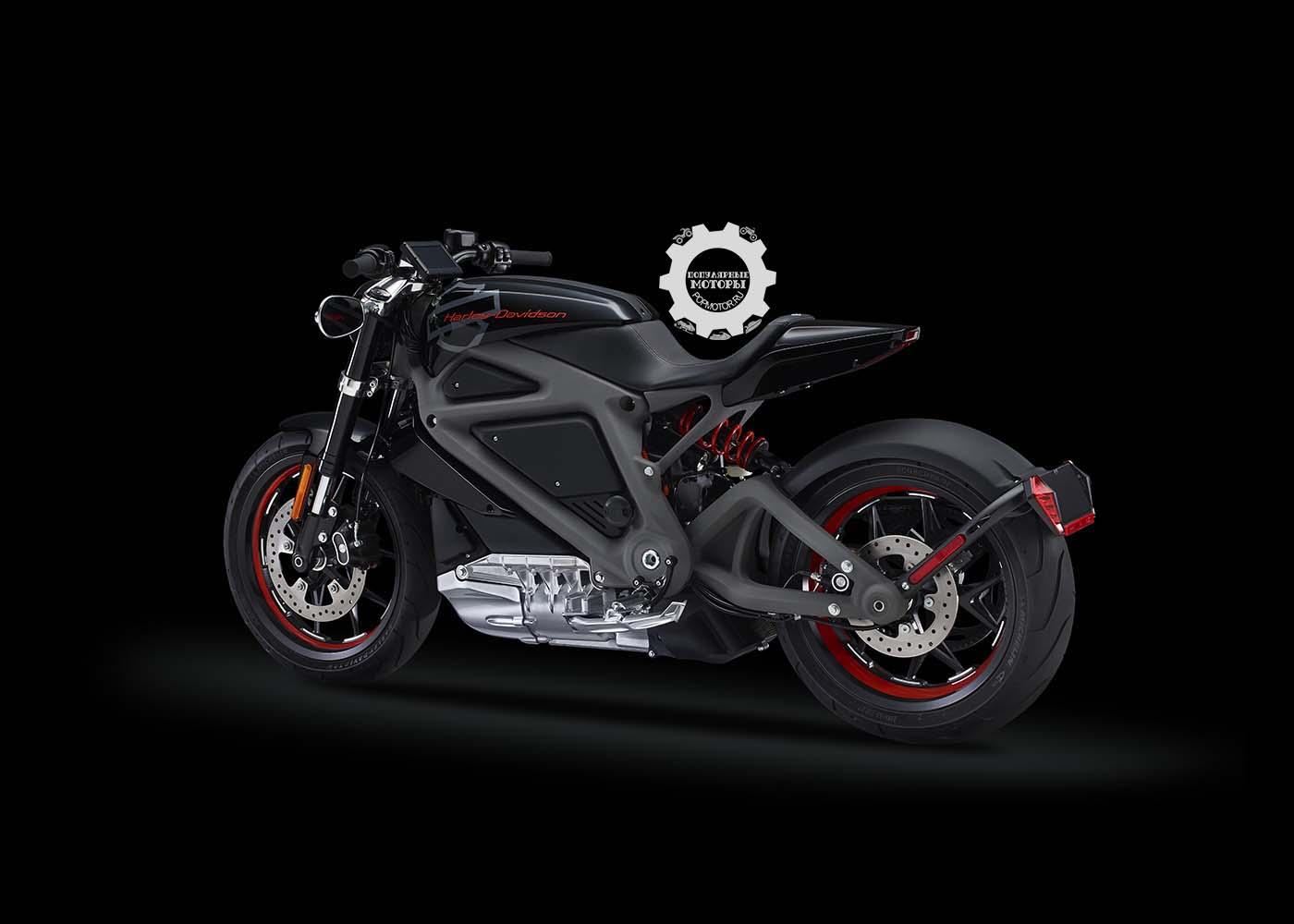 Анонс электрического мотоцикла Harley-Davidson