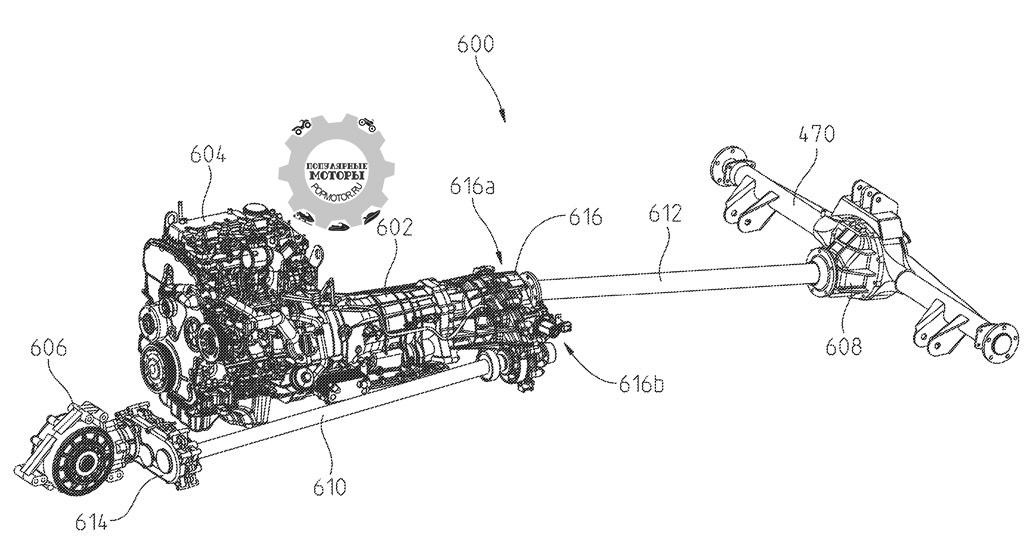 Фото инновационного утилитарного мотовездехода Polaris — двигатель