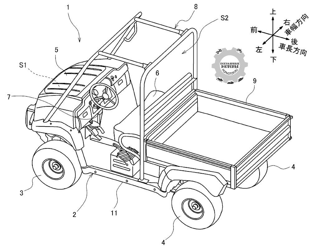 Работают ли Kawasaki над созданием электрического мотовездехода?