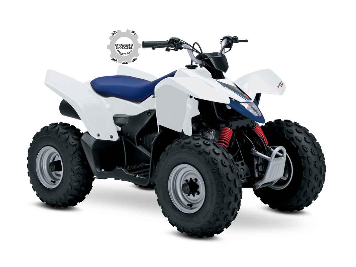 Первый взгляд на квадроцикл Suzuki QuadSport Z90 2015