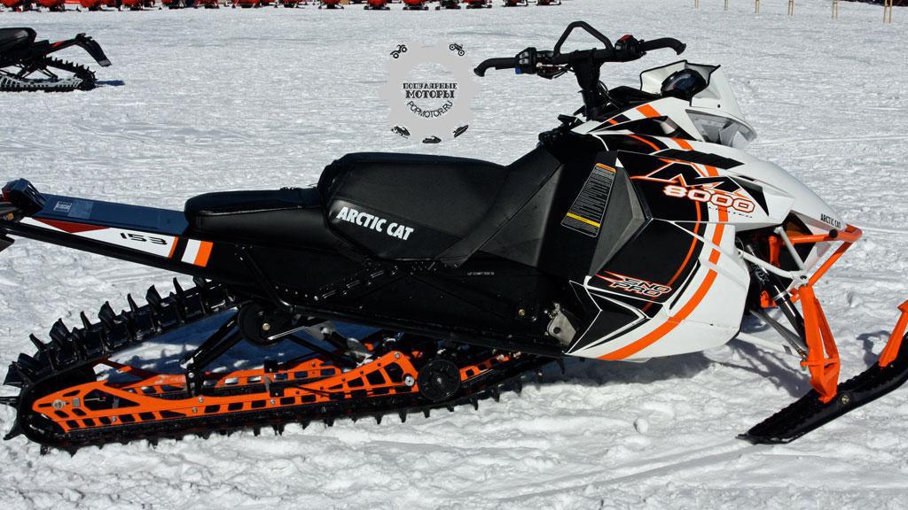 Фото снегохода Arctic Cat M8000 Sno Pro 2015
