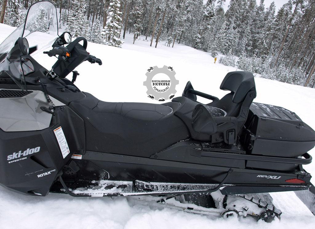 Обзор снегохода Ski-Doo Expedition SE ACE 900 2015