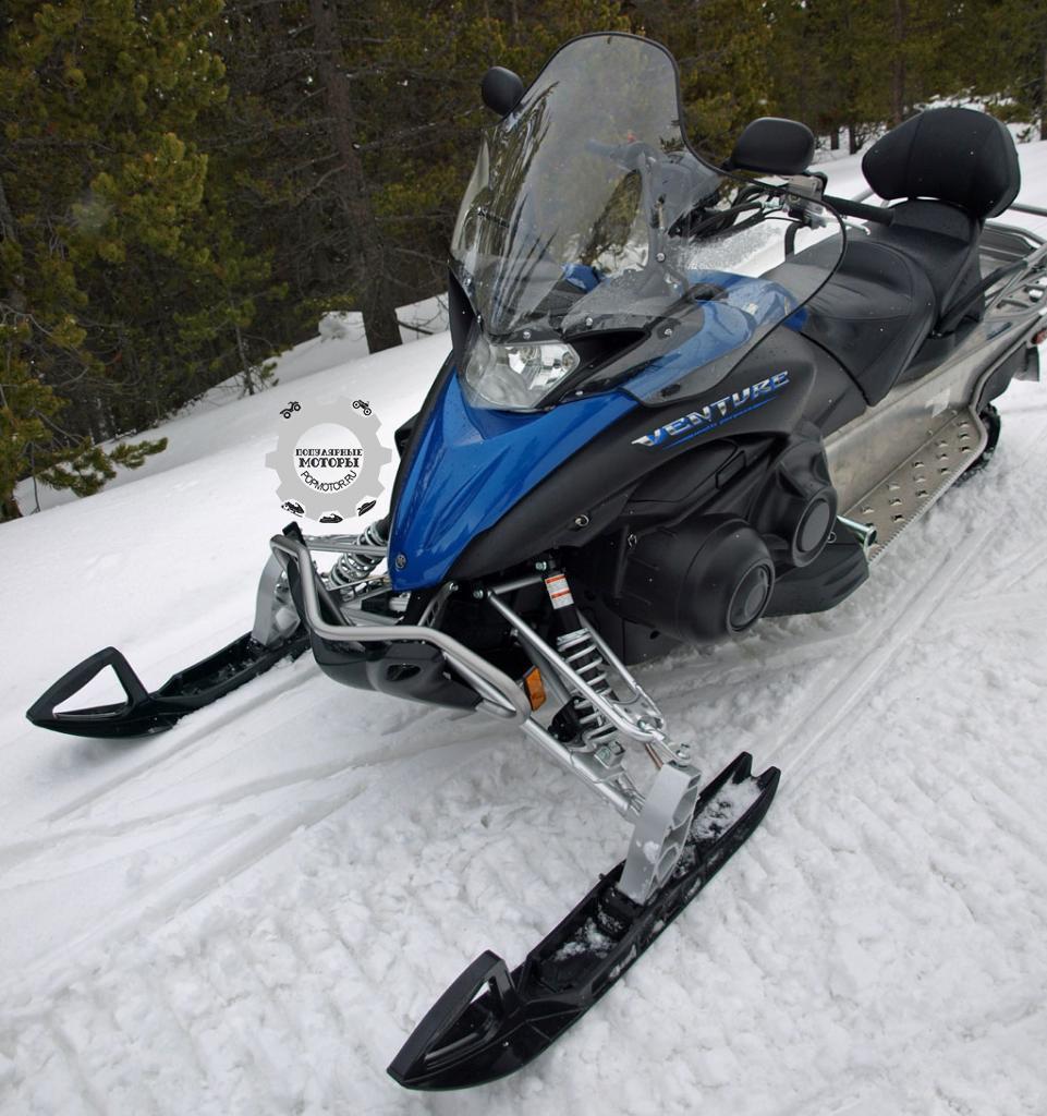 Обзор снегохода Yamaha Venture MP 2015