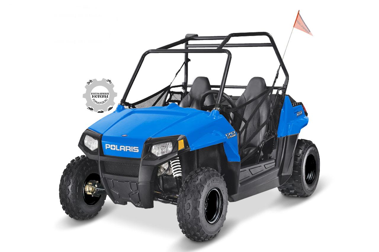 Polaris RZR 170 создан для детей от 10 лет.
