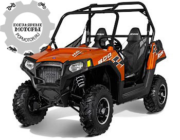Фото квадроцикла Polaris Ranger RZR 800 Nuclear Sunset LE 2013