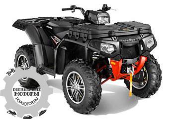 Фото квадроцикла Polaris Sportsman XP 850 H.O. EPS Stealth Black LE 2013