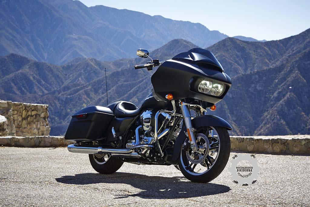 Обзор мотоцикла Harley-Davidson Road Glide 2015
