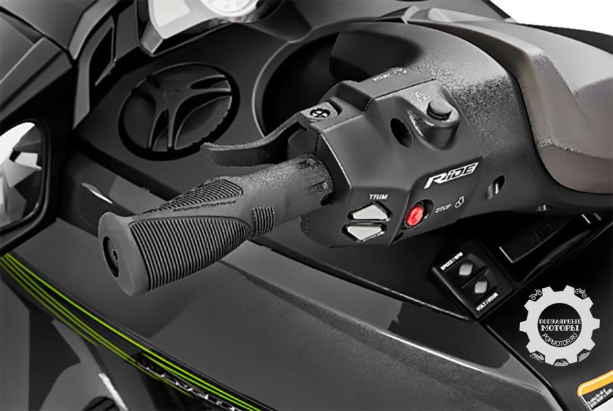 Анонс системы управления гидроциклов Yamaha «RIDE» с двумя рычагами