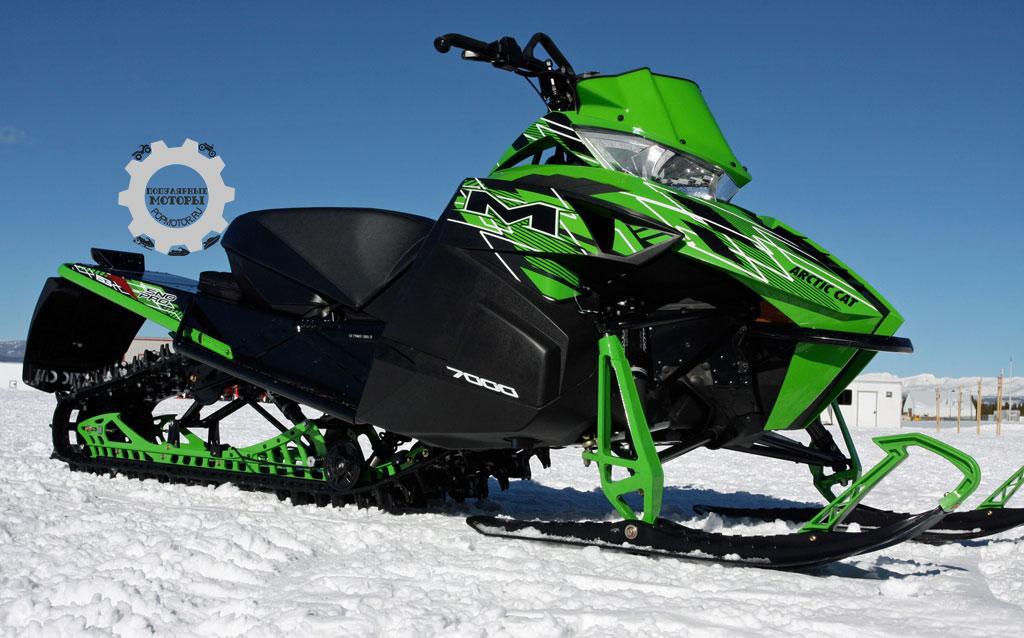 Обзор снегохода Arctic Cat M7000 Sno Pro 2015