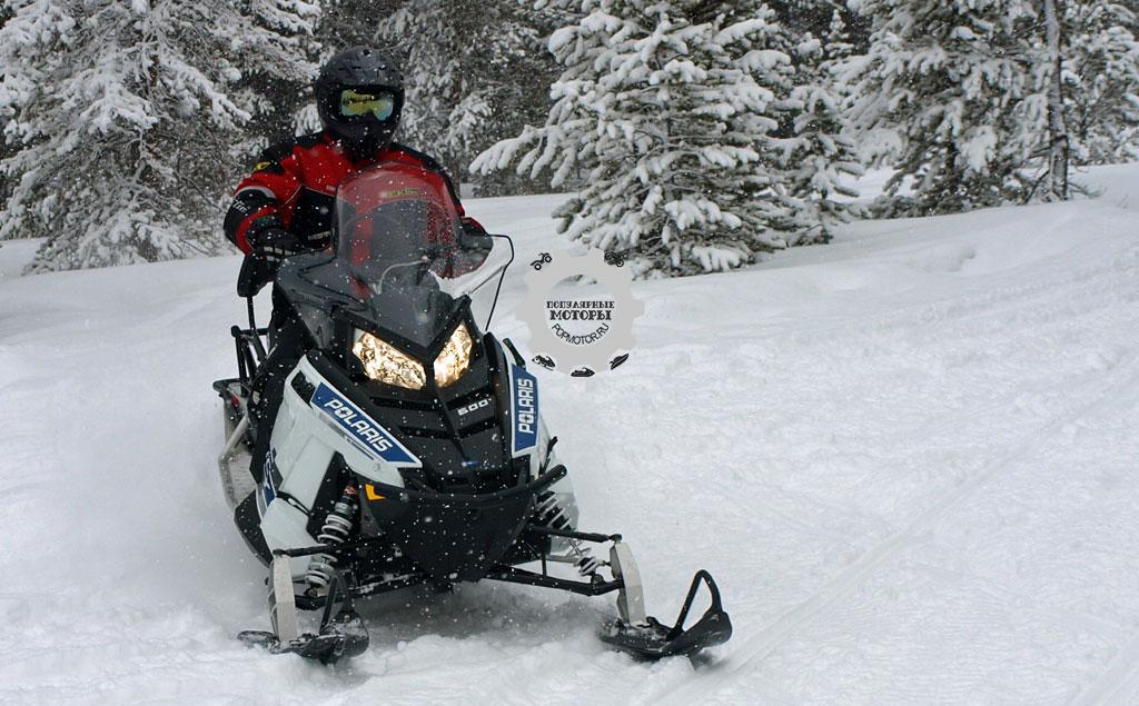 Обзор снегохода Polaris 600 Indy Voyageur 144 2015