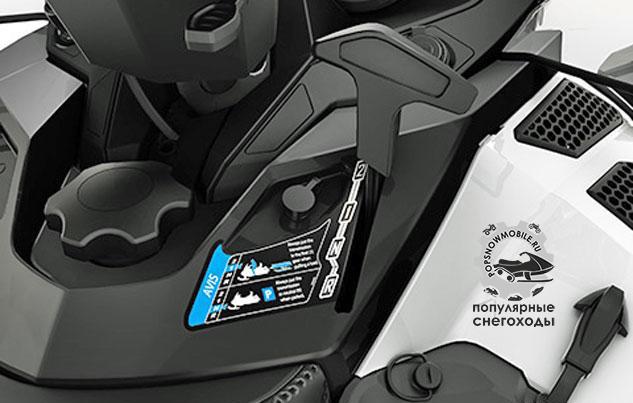 Ski-Doo позаимствовали синхронизированную двухскоростную коробку передач с реверсом у своего финского партнёра Lynx, чтобы создать поистине универсальную модель.