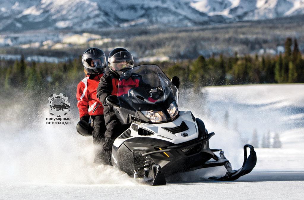 Ski-Doo Expedition SE 4-Tec 1200 совмещает в себе комфорт Grand Touring и утилитарностью Scandic.