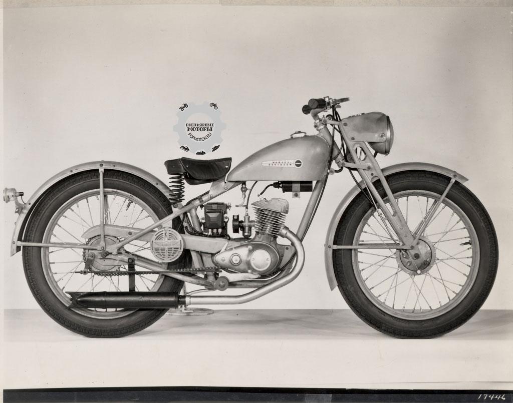 Фото 10 малоизвестных фактов о Harley-Davidson - S 125