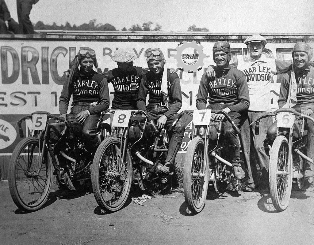 Фото 10 малоизвестных фактов о Harley-Davidson - Wrecking Crew