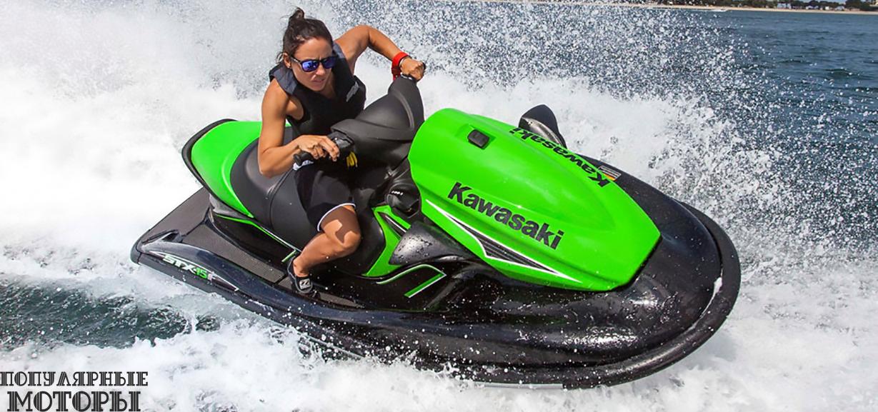 Анонс модельного ряда гидроциклов Kawasaki 2015 года