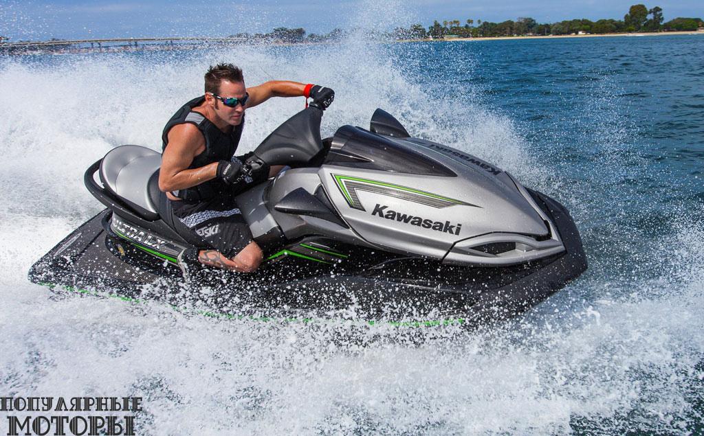 Kawasaki Jet Ski Ultra LX 2015.