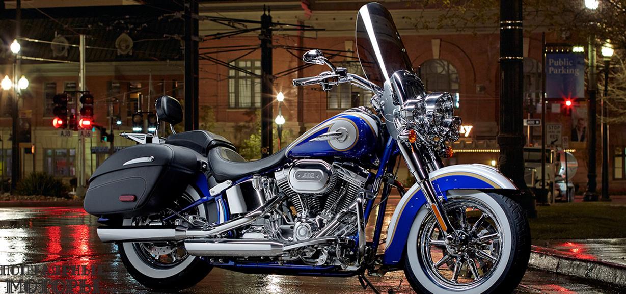 Обзор мотоцикла Harley-Davidson CVO Softail Deluxe 2015